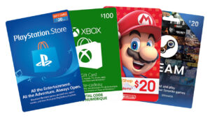 Gift Card for Gamers