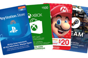 Sell gaming Giftcards in Nigeria